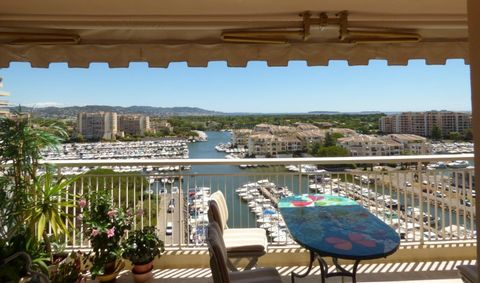 Apartment Floor 8, View Panoramic sea, Position Est / Ouest, General condition Good, Kitchen Separate fitted, Heating Collective, Hot water Collective, Total surface area 78 m² Bedrooms 2, Bath 1, Toilet 1, Balcony 1, Terrace 1, Car park 1, Cellars 1...