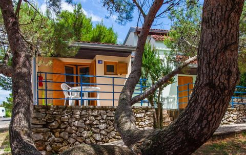 The camping village is located in Croatia, a few km from Mali (Mali Losinj) on the island of Losinj, opposite the island of Krk in the Archipelago of the Kvarner. The campsite, located at the narrowest point of the island, is set in a natural environ...
