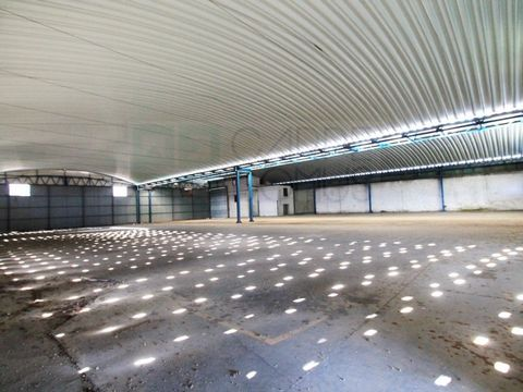 Modern industrial warehouse in Vilar dos Prazeres, Ourém. Set of 3 industrial pavilions with 5 accesses of heavy vehicles. 1st Floor for offices with 6 rooms and 2 bathrooms. In the R/C There are also support offices and bathrooms with locker rooms a...