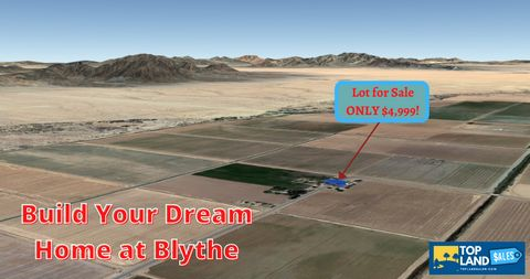 Located in Ripley. Build your home surrounded by the farmland flats in Blythe, California. Situated along Ben Hulse Hwy. in Riverside County, this lot is perfect for anyone who wishes to build a beautiful home away from the city while not staying too...