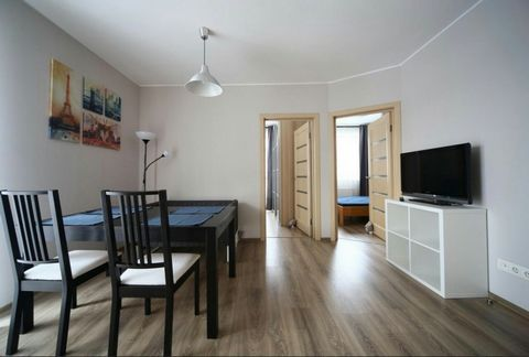 Location: st. Lesi Ukrainian. The ancient part of Lviv (City Center). Rooms: 2. Number of places: double bed + sofa (comfortable for staying 4 people (2 + 2)). The apartment has free wi-fi, iron, ironing board, hairdryer, disposable slippers, shampoo...