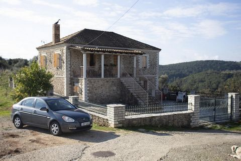 Filiates, Thesprotia. For sale a stone house of 165 sq.m. on the plot of 930 sq.m. The house consists of 2 living rooms with fireplace, 2 kitchens, 3 bedrooms, 2 bathrooms, storage rooms inside and outside the house. The distance to the port and the ...