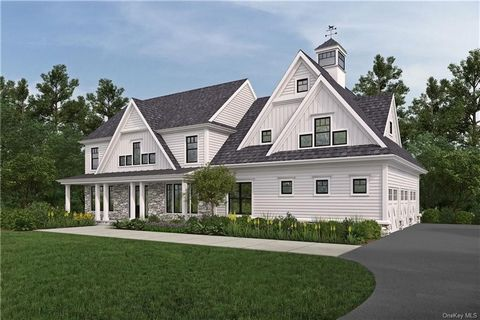 Another exciting new construction offering by highly accomplished local builder will be built in 2021 in the prestigious Yale Farms estate area. This luxurious 5 bedroom home on over 2 acres offers an inviting open floor plan with 10' ceilings and me...
