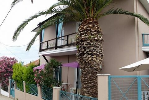 Hotel in the area of Skala Sotiros in Thassos. It has a total area of 340 sq.m. and it is located on a plot of 450 sq.m. It consists of two levels. It includes 12 autonomous studios of 25-30 sq.m. each featuring a kitchen, bathroom and balcony with g...