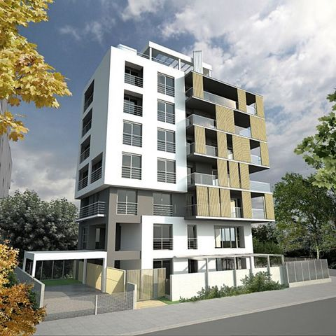 This building has 6 luxuries flours is under construction with delivery until the end of 2019, is located on a Sophoulis vertical road at the height of Express Service (Kalamaria area, east). The 4th and 5th floors are sold, each is 168m2. Whole-floo...
