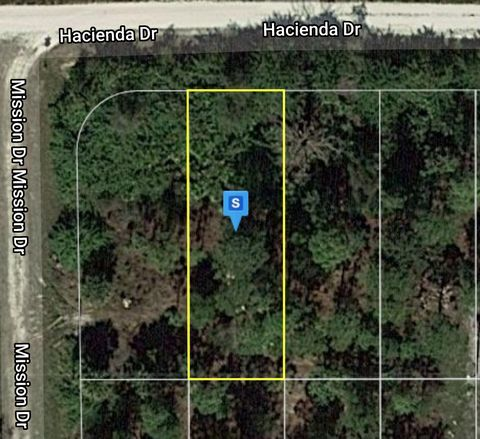 Located in Punta Gorda. This is a buildable vacant single family residential property. The land has been surveyed so you don't have to worry about the added stress of marking the four corners yourself! You can have a frame or modular home on the land...