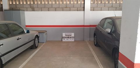 Underground private parking space in residential complex in the centre of Golf del Sur.