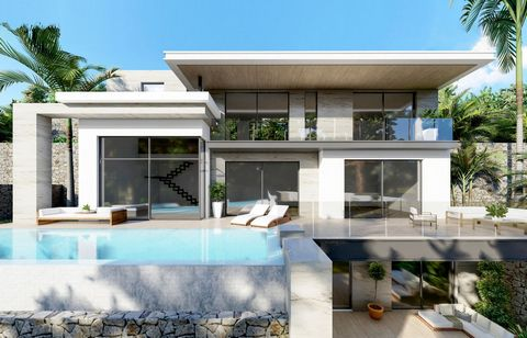 This modern villa next to its construction, with high standing qualities and sea views. It is a bright and sunny villa, which will have 245 m2 and has 4 bedrooms with fitted wardrobes, 4 bathrooms and a toilet. It is a property with south-east orient...
