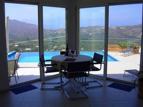 A small development of just 3 detached newly buIlt bungalows In a fantastIc mountaInsIde locatIon wIth breathtakIng vIews down onto Tholos Bay, across to the towns of AgIos NIkolaos and Elounda and over to the mountaIns of SItIa. The tradItIonal vIll...