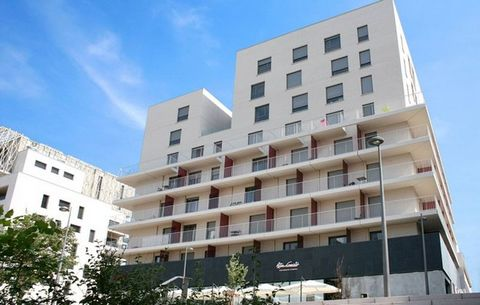The Appart'Hotel, with its modern architecture, is located in the heart of the 2nd arrondissement of Lyon, Confluence, with shops, services, shopping centers, cinemas, leisure and cultural sites. In a residential area close to the city center, the re...
