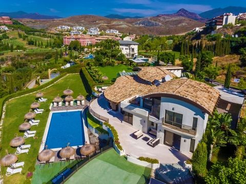 Spain / Marbella-Benahavis A private villa surrounded by stunning sights of the Marbella coastline, thsi property will give you and up to 20 guests a truly unique vacation in Spain. Each of the 10 bedrooms and 10 bathrooms have been designed with sop...