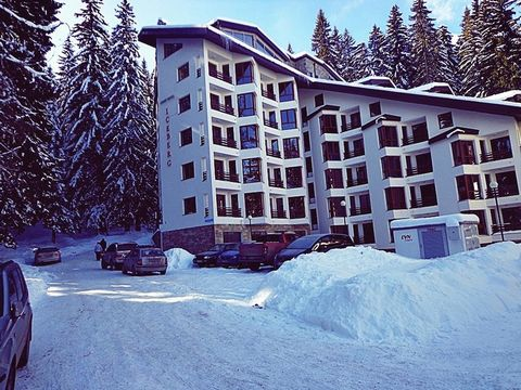 This property for sale is located in the Iceberg Complex in Pamporovo, Bulgaria. The property comes fully furnished and is ideal for someone to rent out straight away and make money from all the tourists who flock to this resort each year. It is one ...