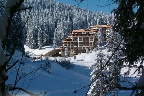 Pamporovo Palace is a lovely complex located in the ski resort of Pamporovo at the foot of Mount Snejanka. The complex is situated just 10 m from the main ski lift and only 300 m from the shops, bars, restaurants and nightlife in the resort centre. I...