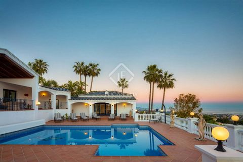 The home offers 768 m² of living space and a plot size of 4,594 m², with 9 bedrooms, 7 bathrooms and 1 toilet. This amazing home benefits from spacious patios and terraces which are perfect to entertain guests and take in the incredible view of Marbe...
