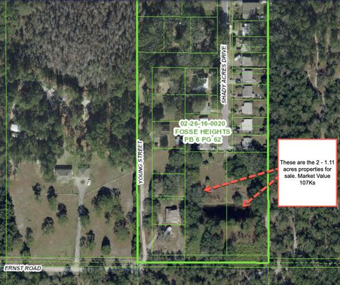 Located in New Port Richey. 1.11 Acre in New Port Richey Florida (GOOD FOR MODULAR HOME!!!)- Comps from $48,000 - $60,500. BUY FOR ONLY $32,999!! Close to Walt Disney World Resort and Seaworld Orlando, FL Seclude yourself in this serene, filled with ...