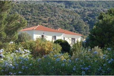Superb 2 Bed Villa in Samos Greece Euroresales Property ID – 9824729 Property information: Constructed in 2007 to high standards with modern open plan living. The villa is 80m above the peaceful hamlet of Kerveli and has excellent sea, hillside views...