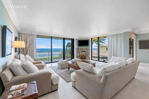If you have ever wondered what it is like to live on the ocean in Gulf Stream, one of the most prestigious communities in South Florida, this fabulous direct oceanfront apartment awaits your arrival. With a lovely sense of privacy and serenity, this ...