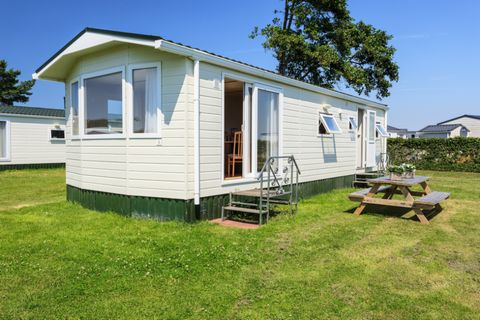 This recreational park is situated among the dunes of the South Holland coast - the perfect location for a lovely beach holiday! The beach is about 2 km from the park. Children will be entertained in and around the park. The park has various faciliti...