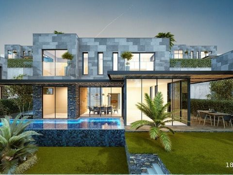 PERFECT FUTURE CONCEPT VILLASWHEN THERE IS A QUALITY OF BODRUM ARCHITECTURE BODRUM BLACK SLATE SIZE AND NATURAL VIEW NUMBER: 6+15 BATHROOM WITH WC360 M2 GROSS90 M2 BODRUM 1. CINEMA ROOM + 1 BATHROOM SERVICE ROOM90 M2 SEMİn 1. HALL + 1 BEDROOM + 1 GEN...
