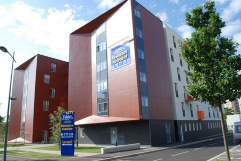 The residence built in a modern architectural style, you will find in the heart of the 8th district in Lyon, in a quiet residential area, directly connected to the center of Lyon Presqu'ile with the tran and metro, The hotel residence is an ideal bas...