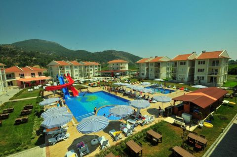 The apartment for sale is in Onat Garden Apartments, Dalaman, Turkey. The complex is 10 to 15 minutes from Dalaman Airport. The present owner has owned the property for about 8 years. The property comes fully furnished with quality furnishing and the...