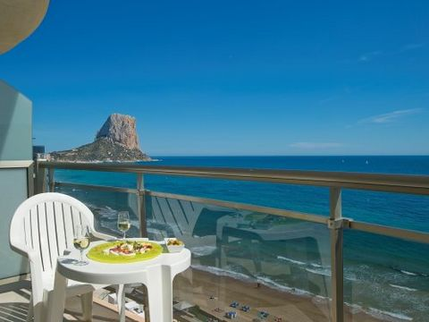 Hotel: - On the Costa Blanca 132 km south of Valencia and 77 km north of Alicante - Building of 7 floors with 3 lifts and direct access from the parking lot - 4-star hotel of 278 rooms equipped with air conditioning and heating and a private balcony ...