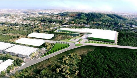 Industrial land with 85,000 m2, in the Industrial zone of Linhó/Beloura in Sintra, near the A5, A16 and IC19. The Logistic Centre Lidl; Autodromo do Estoril; Beloura; Penha Longa. Ideal for automotive industry; Pharmaceuticals; ECommerce; Logistics; ...