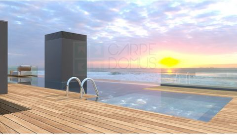 'OCEAN Living', luxury condominium in Praia da Rocha with swimming pool and against the sea. This condominium of only 9 apartments. Composed of a Penthouse T5 of 662 m2, with private pool on the 'rooftop' and garage box for 5 cars with the price of 2...